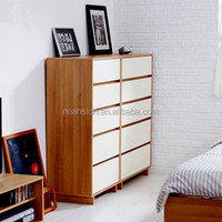 factory outlets center white 5 drawers storage chest