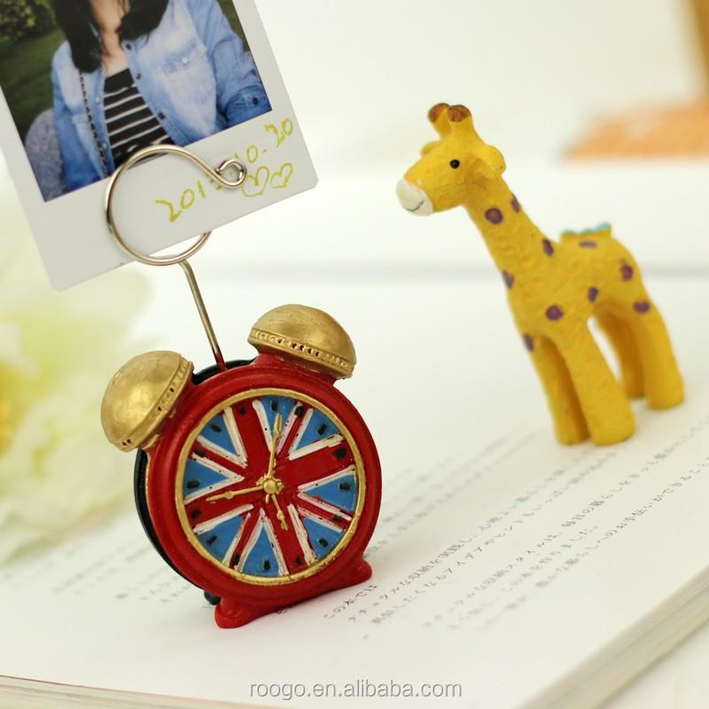 polyresin nombre titular de la tarjeta mini modelo hecho a mano la decoracin del hogar