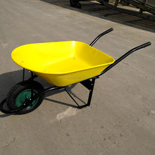 Pneumatic Wheel Wheel Type and Metal Tray Material Metal wheel barrow