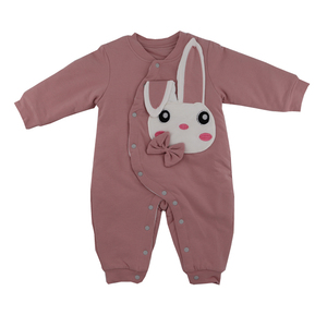 Top quality 100% cotton organic newborn baby clothes and baby jumpsuit