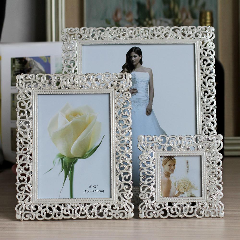 Photo Frames For Home Decor: Aliexpress.com : Buy Europe Metal Picture Frame European