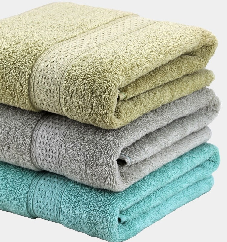 Bath Towels India Online: Good Hand Feeling Wholesale Customized Cotton Bath Towels
