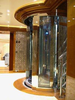Custom build luxury elevator on yacht dumbwaiter on yacht for Luxury homes with elevators