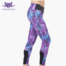 women unique print yoga activewear leggings sexy supplex workout clothes fitness wear
