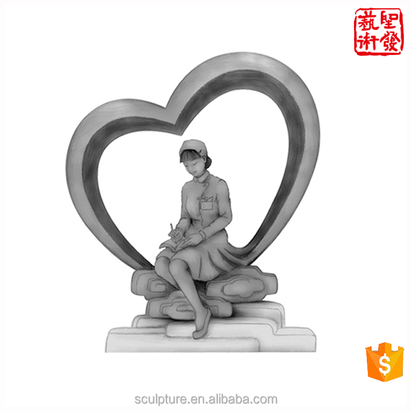 2017 New Modern <strong>Art</strong> out door Decoration For hospital Decoration sculpture