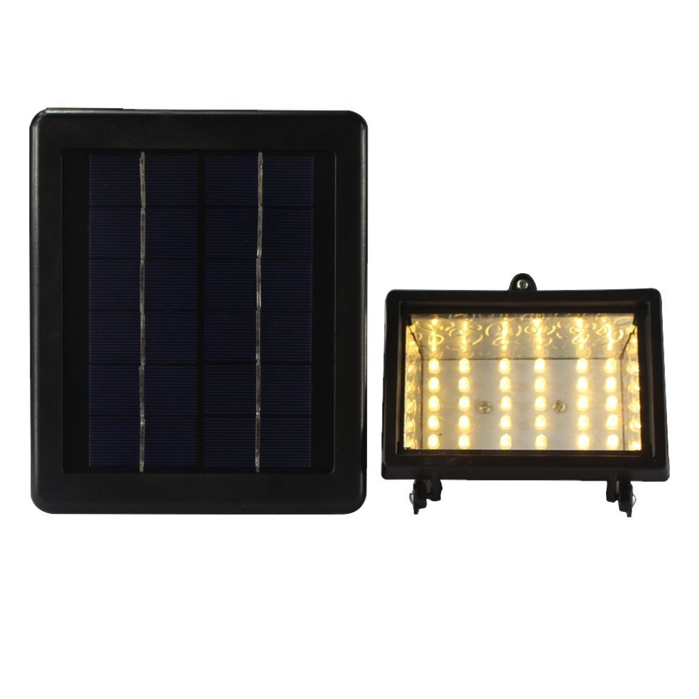 Cheap led solar security light find led solar security light deals euone 30 led solar power lamp light control security outdoors waterproof lamp yellow aloadofball Images
