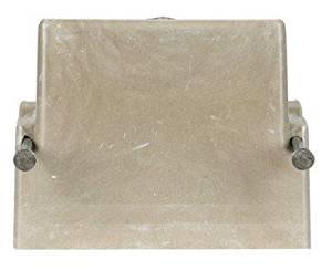 """Allied Moulded Switch Box 18.0 Cu In 2-7/8 """" Dx2-1/4 """" Wx3-5/8 """" H Fiberglass 1 Gang Bulk"""