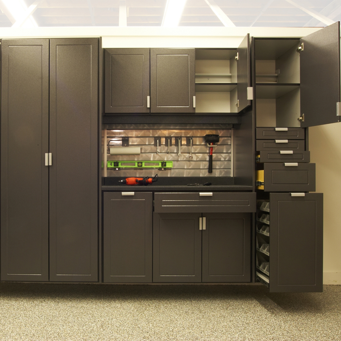 Factory Wood Garage Cabinets With