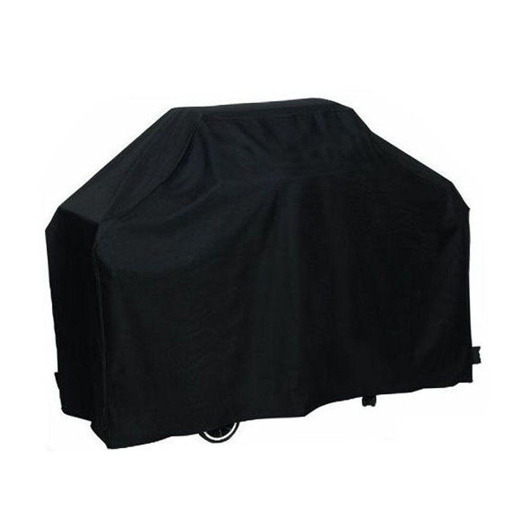 Easehold BBQ Gas Grill Covers Outdoor Waterproof All Weather Shelter 67x24x46 Inch Black