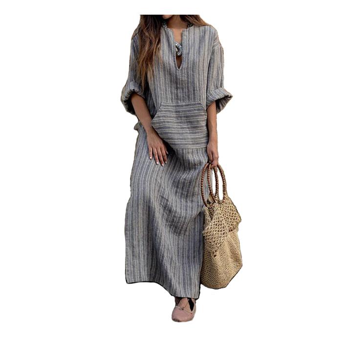 af75fe22a9 China long linen dresses wholesale 🇨🇳 - Alibaba