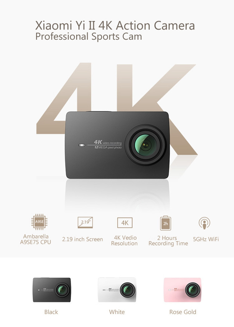 Xiaomi Yi Action Camera Xiaominismes Kingma Paket Complete Battery Charger Set For 4k Plus Lite Real 30fps 2 Ambarella A9