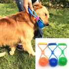 Wholesale Customized New Design Durable Dog Chew Toys Interactive Dog Toys Pet Dog Toothbrush Ball