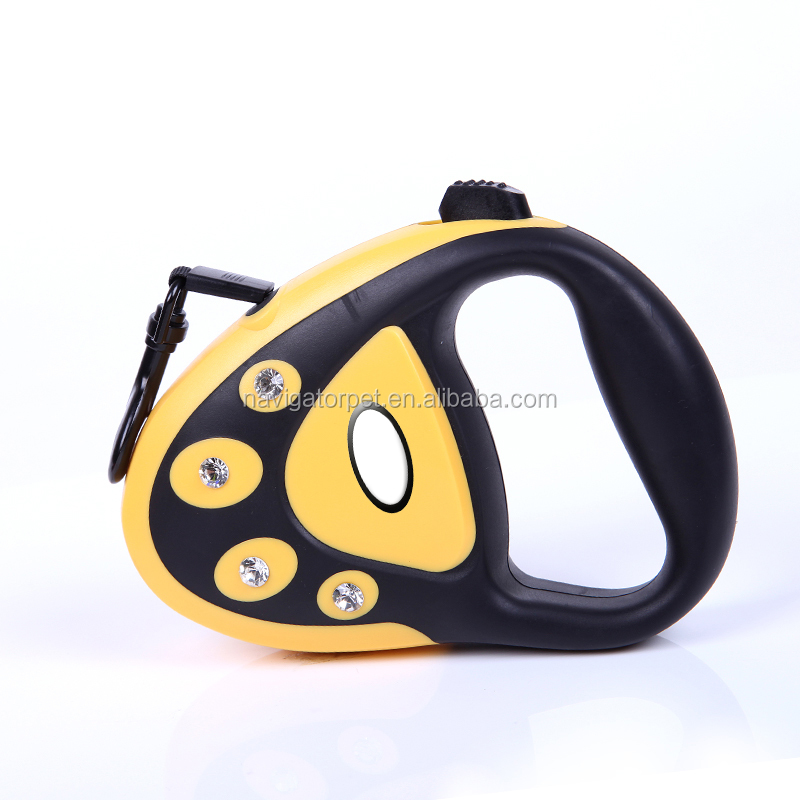 Pet Retractable Leash With Light