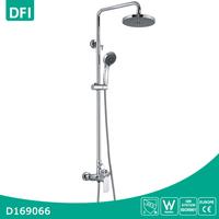 Wall mount brass single handle shower faucet repair