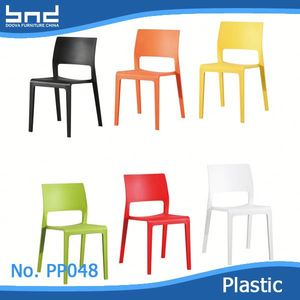 modern PP polypropylene plastic chair factory price manufacturer