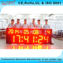 Asian markets for led digital clock hour/min/sec /Date ,MOnth, Year 88:88 :888 outdoor