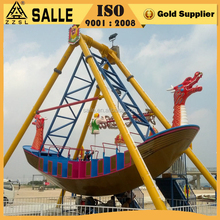 Salle Factory Hot Export Elegant Design Twin Dragon Viking Pirate Ship for Amusement Park