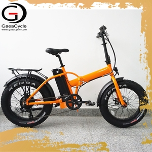Gaea 20inch fat tire folding electric bike 48v 500w comfortable bicycle ebike