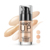 OEM ODM private label BIOAQUA compact Natural Three Color waterproof bb cream whitening liquid foundation