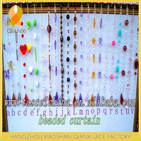 Wholesale beaded door curtain for home decor