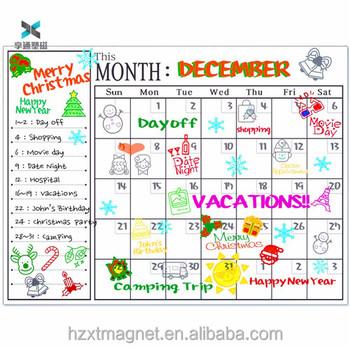 Monthly Planner Refrigerator Calendar For Kitchen Fridge Magnet Message Board Buy Monthly Planner Message Board Kitchen Fridge Magnet Message