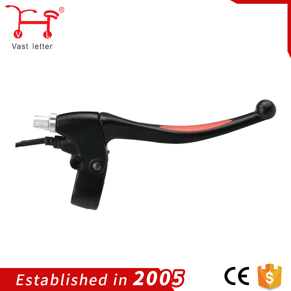 2017 china Best Selling double color electric bicycle handle Brake Lever