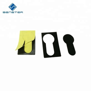Self adhesive eva foam sheet custom die cutting foam padding adhesive foam sheet