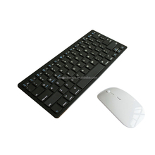 OEM slim bluetooth wireless Portable keyboard and mouse for Ipad Iphone Tablet PC
