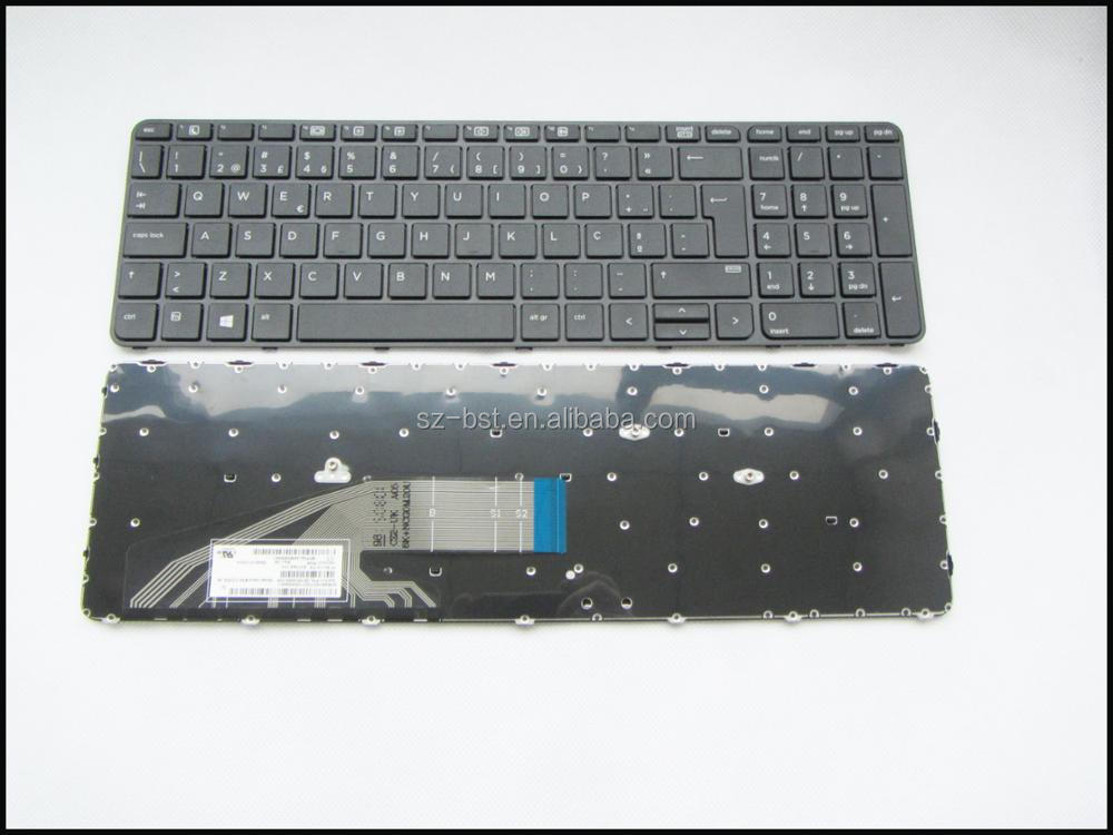 אדיר Laptop Keyboard For Hp Probook 450 G4 455 G4 470 G4 With Frame Po ZC-19