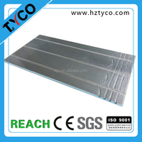Underfloor Heating Systems basment subfloor tile system warm water aluminium spreader plate