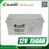 Long cycle life 12v 150ah battery rechargeable 10kwh battery for storage system