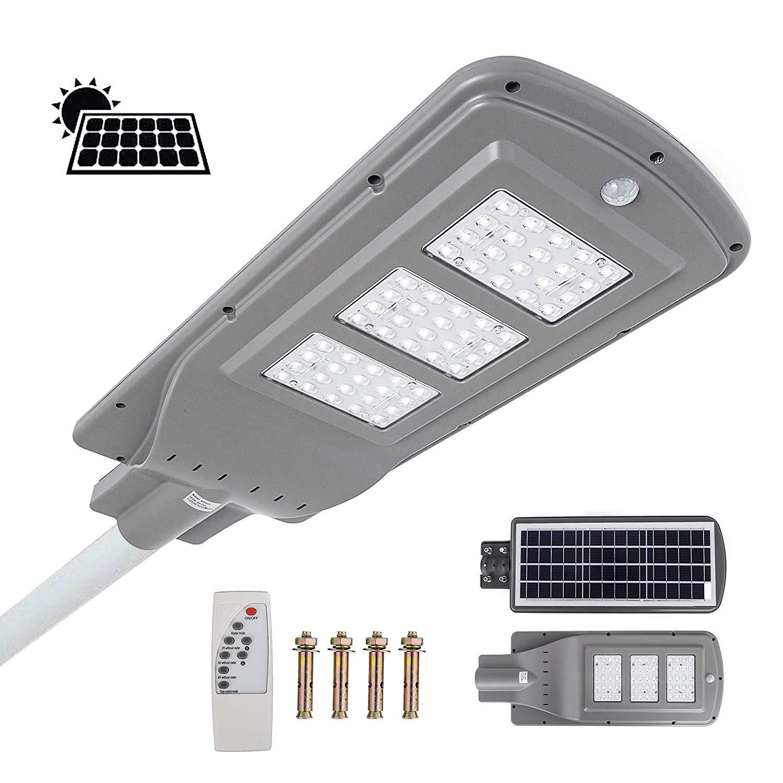 Mophorn Solar Street Light 40w Led With