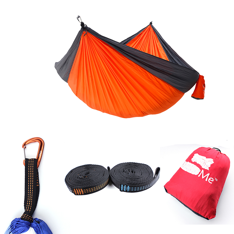 2018 Ultralight Double/Single Parachute Nylon Outdoor Camping Hangmat