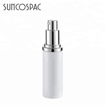 New Product White Cream Lotion Packaging Aluminium Bottle for Cosmetic
