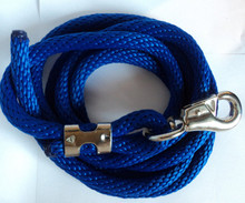 10 Foot Horse Lead Rope with Bull Snap