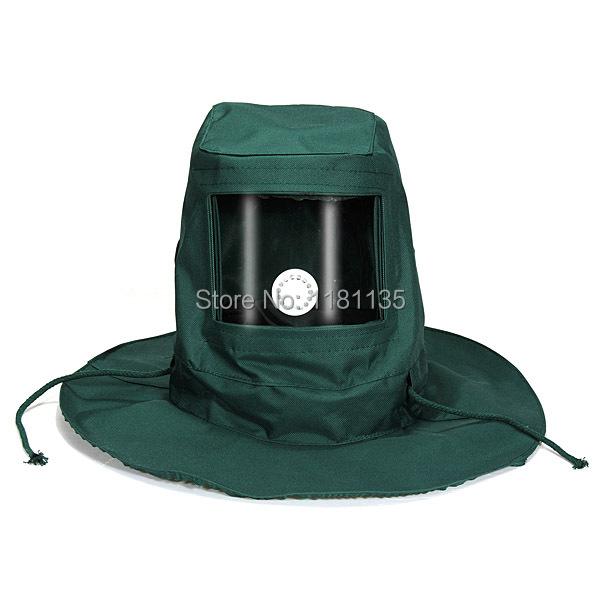 Гуд песок абразивный джет маска кепка анти-ветер пыль защитного средства