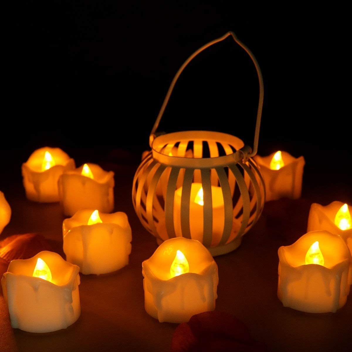Cheap Flicker Light Circuit Find Deals On Adding A Easyflower Add Much Fun Led Candle Tea Light12 Pcs Lot Yellow
