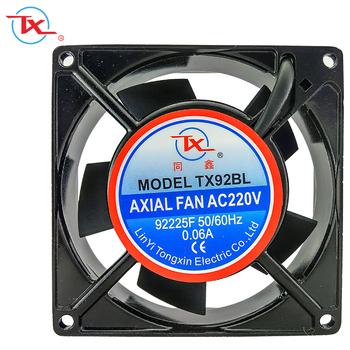 Ball Bearing 90mm 92x92x25mm 220v Ac Cabinet Cooling Fan