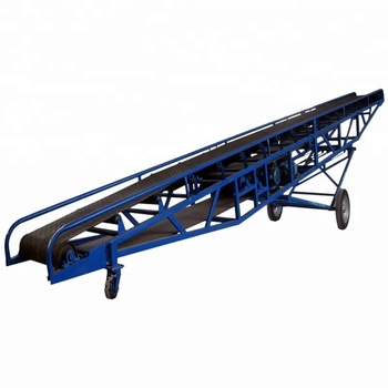 Grain Inclined Portable Belt Conveyor Magnetic Pulley For Belt Conveyor -  Buy Portable Conveyor Machine,Abrasive Belt Machine,Portable Conveyor