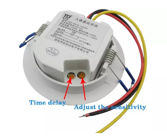 Supply Ceiling Mounted Led Pir Motion Sensor Supply 12v