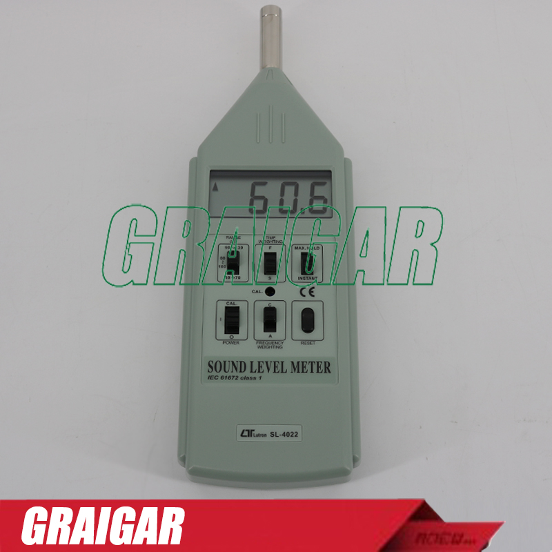 SL4022 NEW 100% Genuine LUTRON SL-4022 Digital Sound Level Meter Noise Meter Type 1 30-130DB