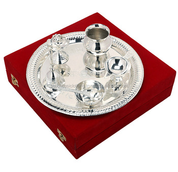 Silver Plated Puja Thali Pooja Accessories Diwali Gift Item of Brass  sc 1 st  Alibaba & Silver Plated Puja Thali Pooja Accessories Diwali Gift Item Of Brass ...