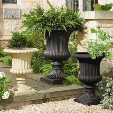 New Design Europe Style Garden Planter Flower Pot Cast Iron Planter
