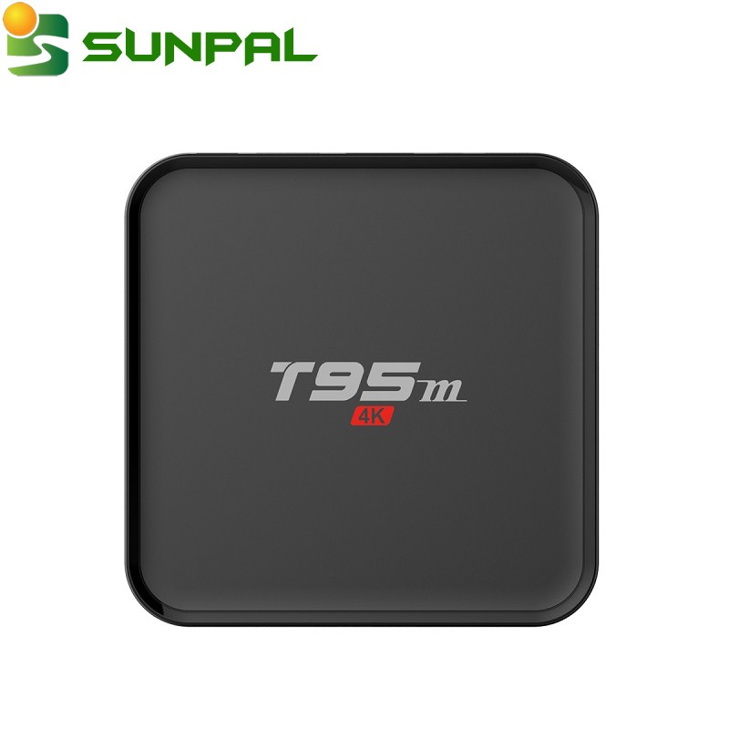 Amlogic S905x Quad Core 1GB/2GB RAM 8GB ROM 2.4G WIFI T95M Spanish Germany Italy Albanian iptv TV Box
