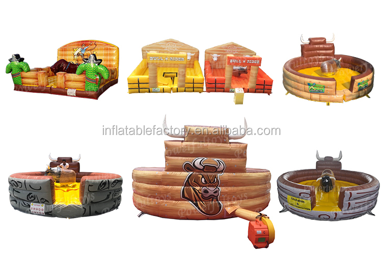 inflatable mechanical bull motor mattress