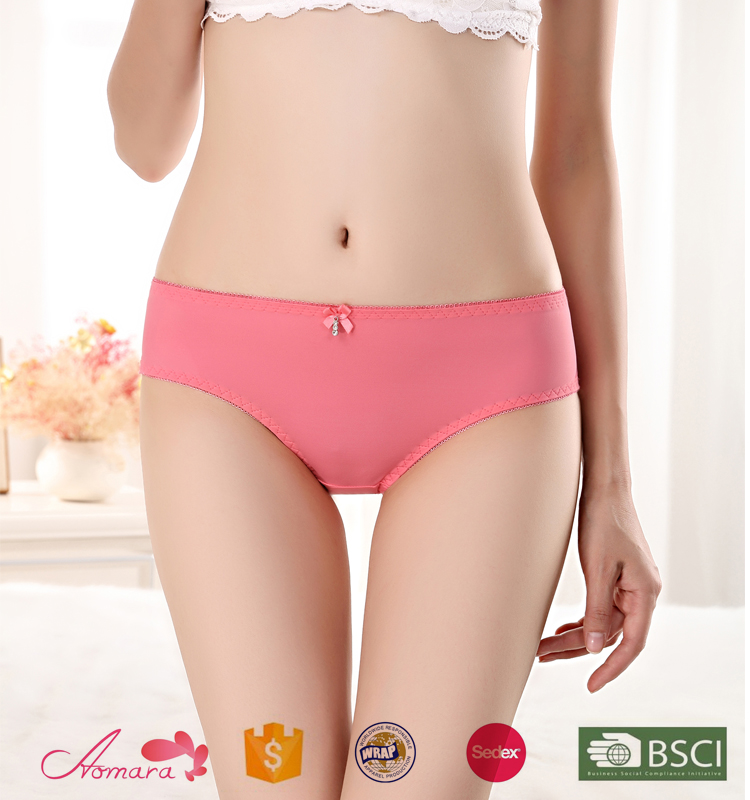 6017 organic cotton underwear women net underwear body care panty