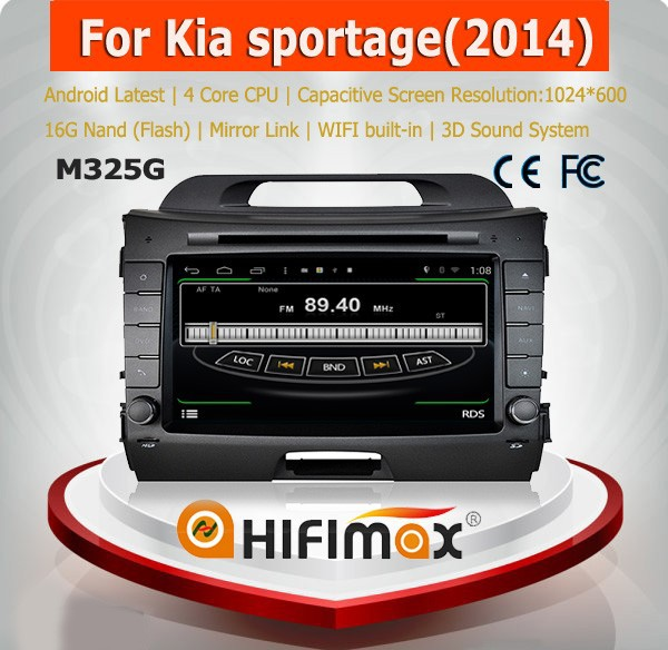HIFIMAX Android car dvd player for Kia Sportage 2010-2014/car radio audio stereo with copy map digital <strong>tv</strong> camera free shipping