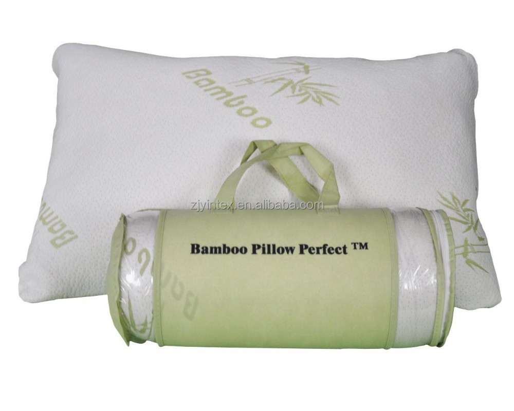 Original Shredded Bamboo Pillow with Ever-Cool Adaptive Technology - Provides Luxury Sleep Better Than Marr
