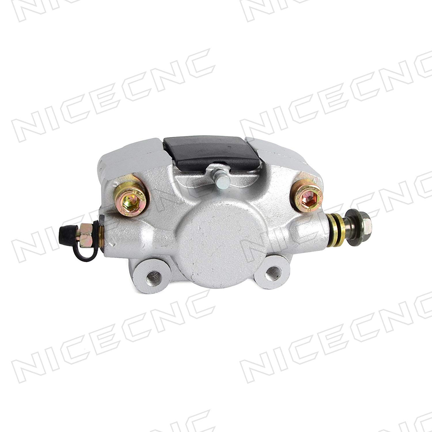 NICECNC Rear Hydraulic Large Pot Brake Caliper With Pads for Most of Chinese quad ATV bikes