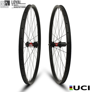 Yuan'an MTB 29er 28.6mm Width 22mm Depth Mountain Bike Carbon Wheels for MTB DT Swiss 240s hub